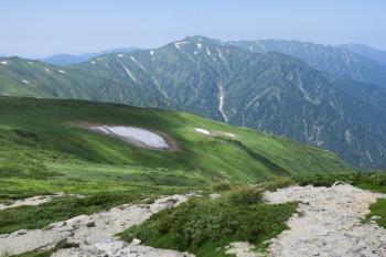 飯豊本山の眺め