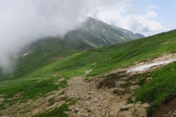 大日岳までの道