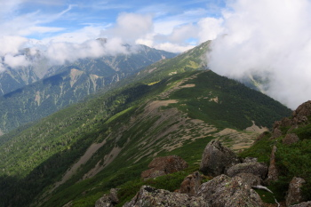 茶臼岳の眺め