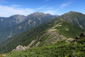 茶臼岳の眺めです。その1
