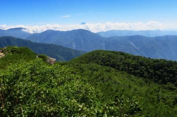茶臼岳の眺めです。その2