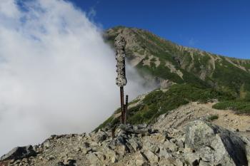 小聖岳(標高2662m)