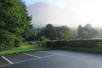 榛名湖ビジターセンターの駐車場