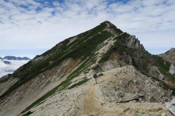 山頂までの道中