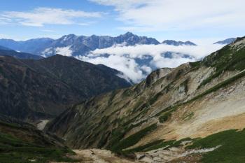 唐松岳の眺めです。その2