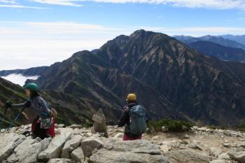 唐松岳の眺めです。その3