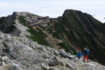 唐松岳の眺めです。その4