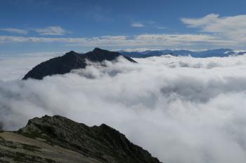 五竜岳の眺め