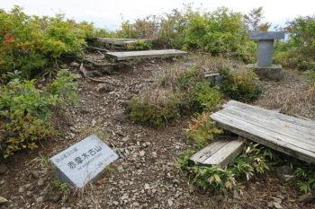 赤摩木古山の山頂(標高1501m)