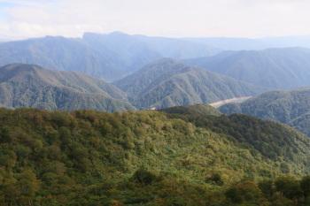 赤摩木古山の眺めです。その2