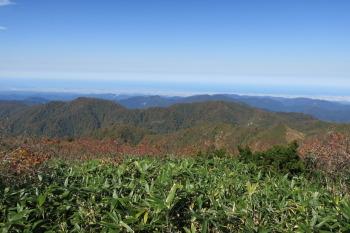大笠山の眺めです。その1