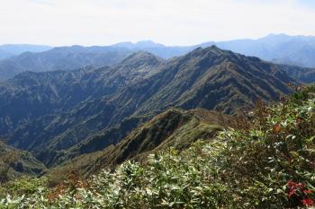 大笠山の眺めです。その2