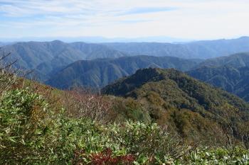 大笠山の眺めです。その3