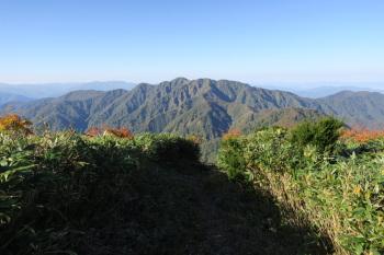 赤兎山の眺めです。その1
