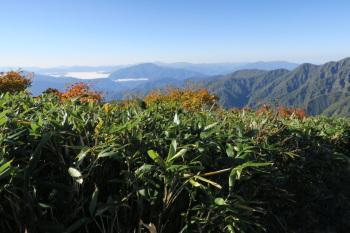 赤兎山の眺めです。その2