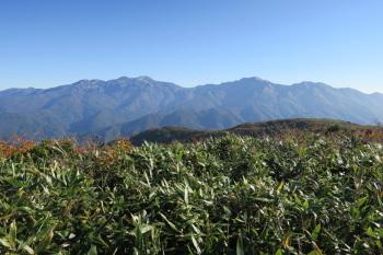 赤兎山の眺めです。その3