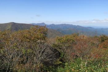 烏帽子山の眺めです。その1