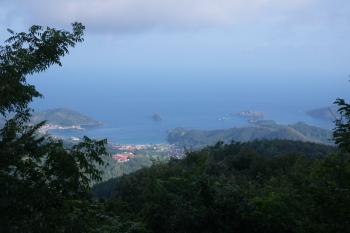 大平山の眺望