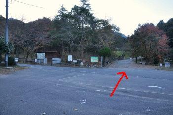 昭和の森公園駐車場