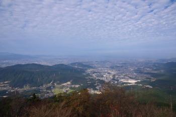 宝満山の眺望です。その1