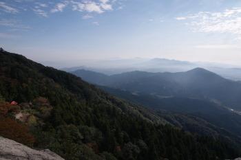 宝満山の眺望です。その2