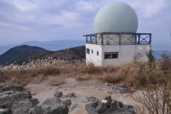 三郡山の山頂(標高935.8m)