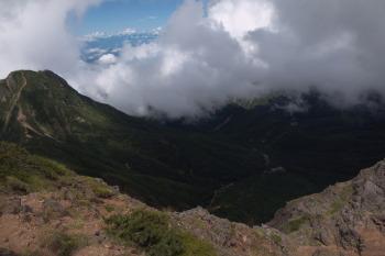赤岳の眺望