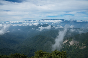 高妻山の眺望です。その1