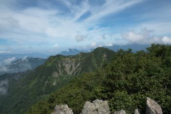 高妻山の眺望です。その2