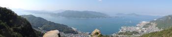 ドンガメ岩からのパノラマ