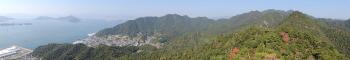 展望岩からのパノラマ