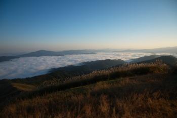 塩塚峰の眺望です。その1