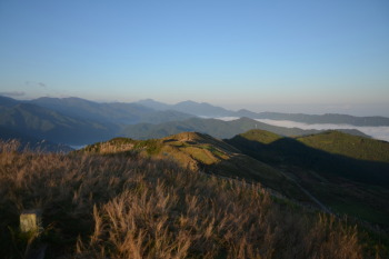 塩塚峰の眺望です。その3