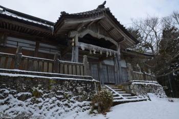 大川神社の横