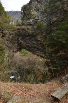 寒霞渓 石門