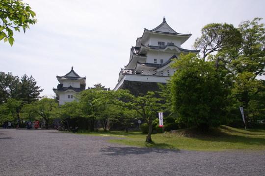上野城です。