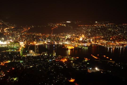 長崎市稲佐山からの夜景