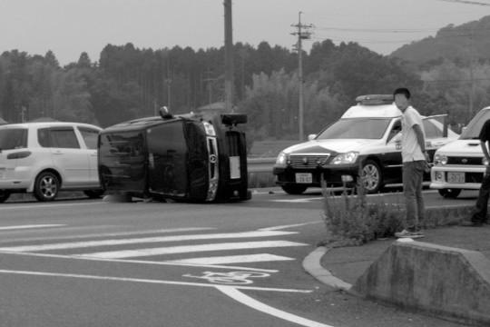 交通事故ですが・・・