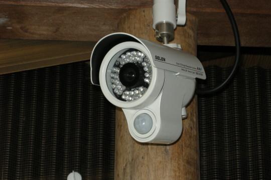 防犯カメラですが・・・