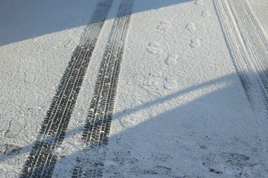 coolpix5100 朝の雪