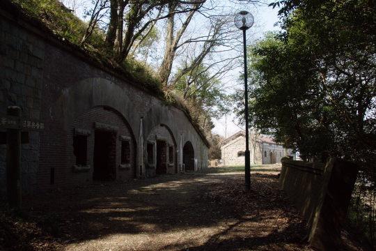 兵舎跡です。